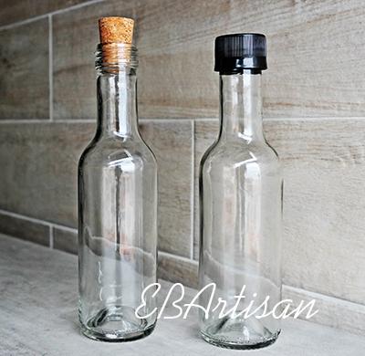 botella de vidrio 187