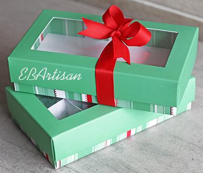caja para navidad para chocolates